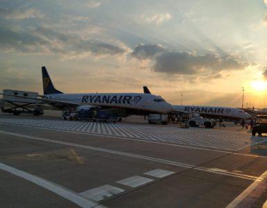 Ryanair a východ slunce