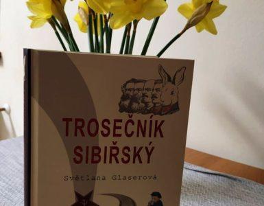 trosečník sibiřský, kniha, česká kniha, literatura, sibiř, světlana glaserová