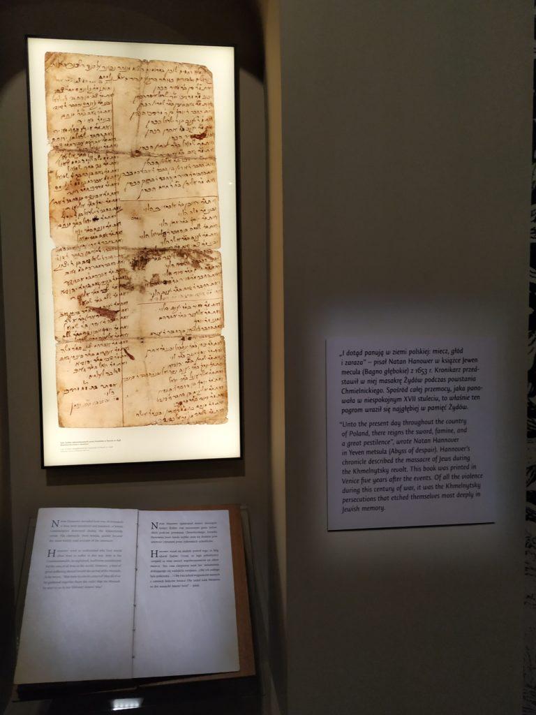 polin, muzeum, holocaust, židé, polsko, varšava, listina