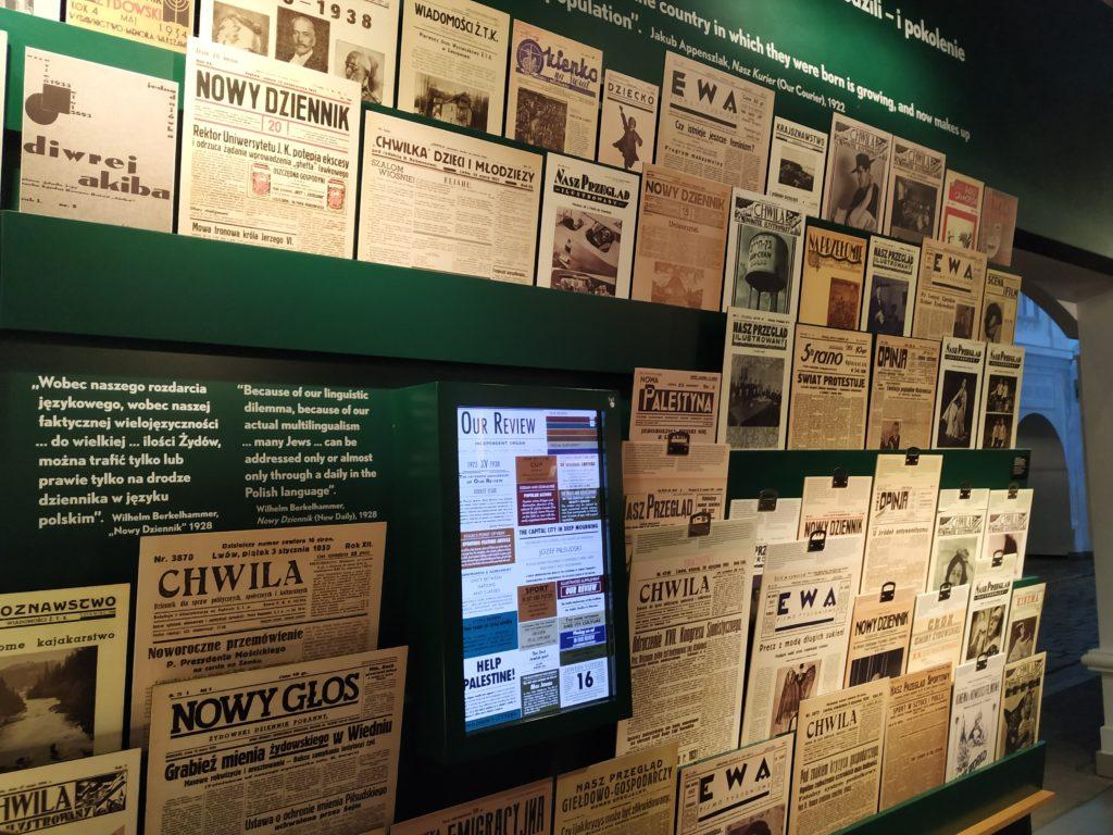 polin, muzeum, holocaust, židé, polsko, varšava, noviny