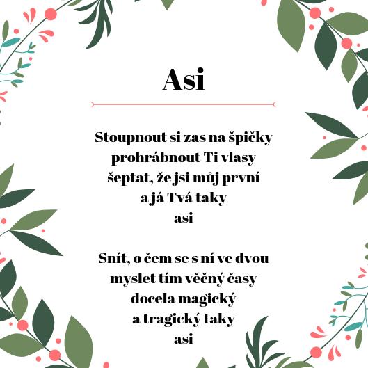 báseň, asi, poezie