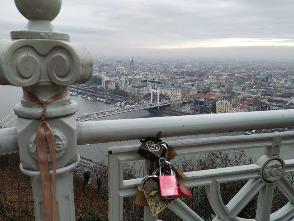 Budapešť, Gellértova hora