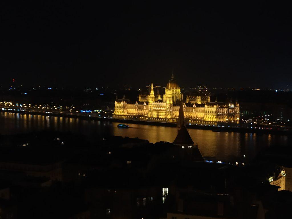 Budapešť, parlament