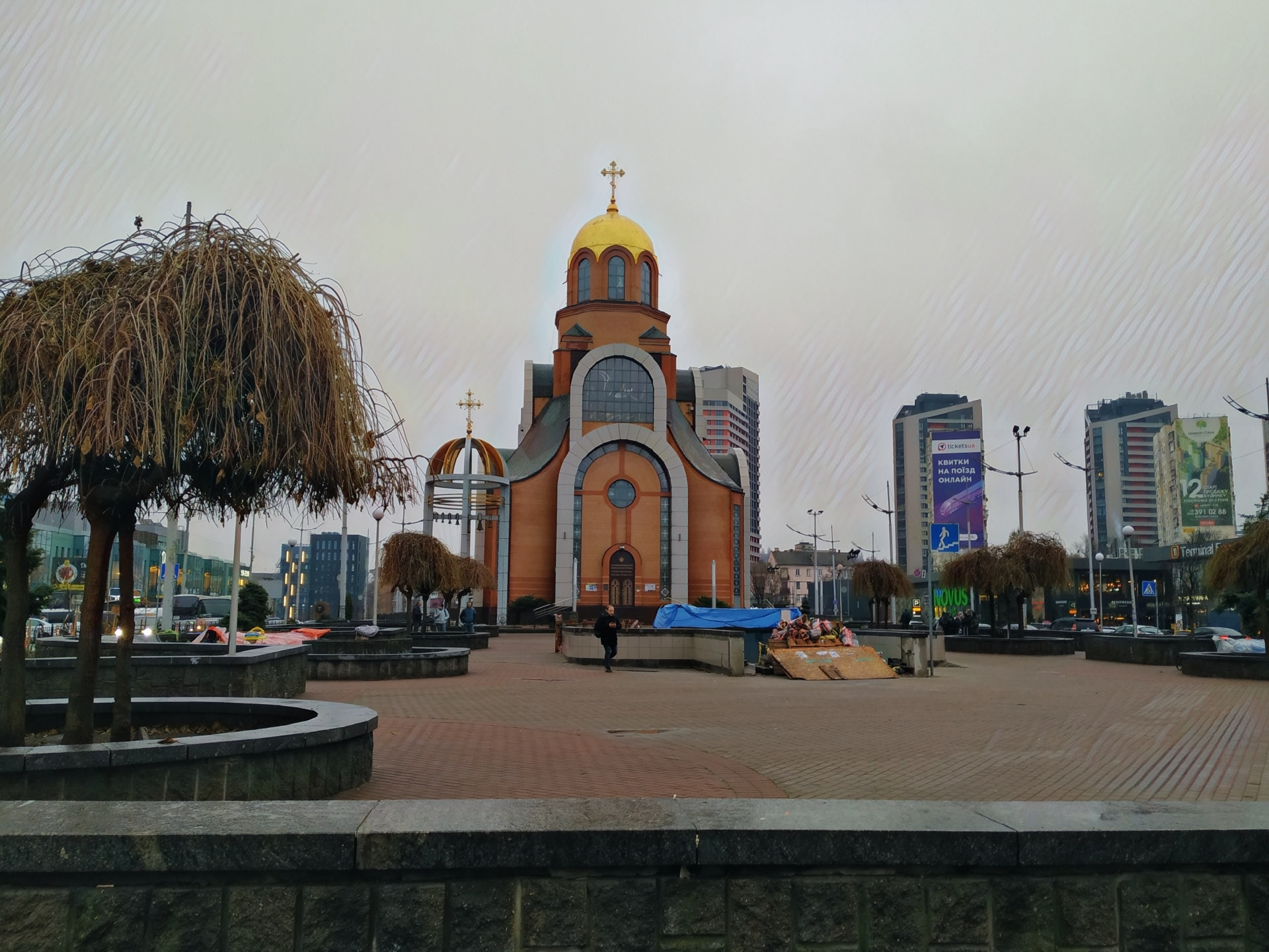 kostel kyjev
