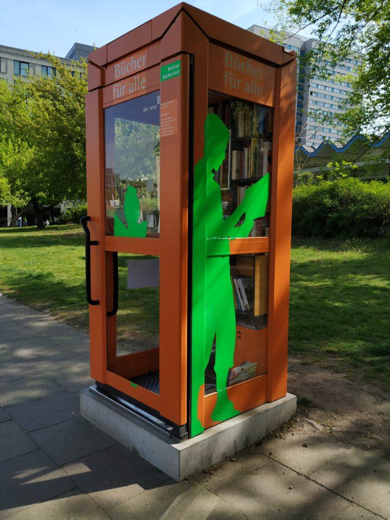 Knihobudka v Berlíně