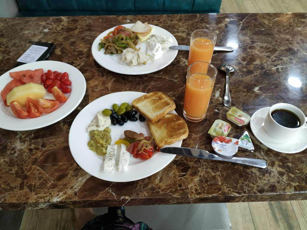 Grape Village Hotel, snídaně