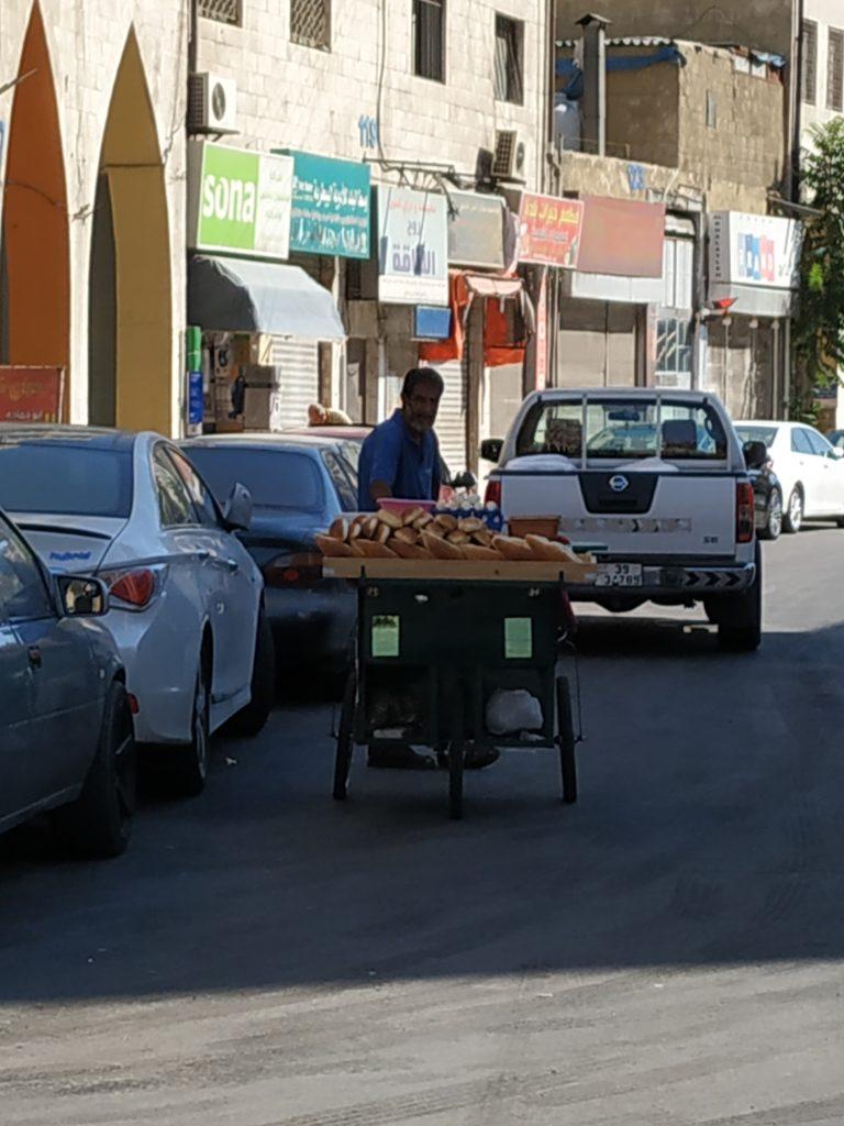 Pečivo přímo z ammánských ulic