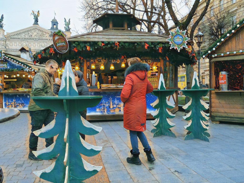 Vánoční trhy Lvov