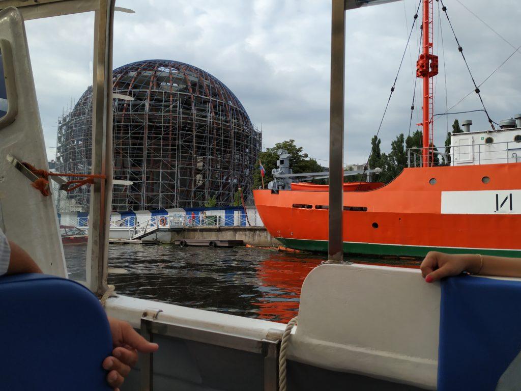 Plavba po řece, Kaliningrad
