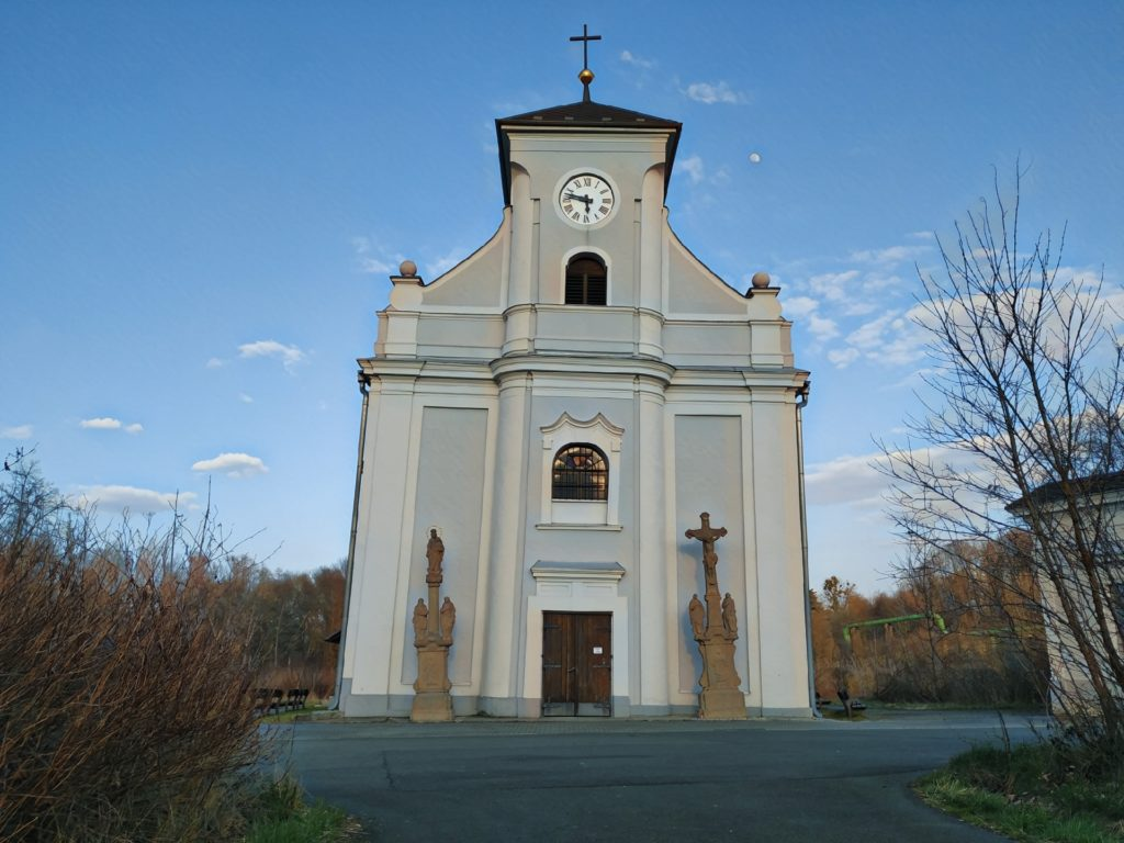 Šikmý kostel
