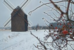 větrný mlýn bravinné